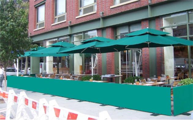 Sidewalk Barriers 5