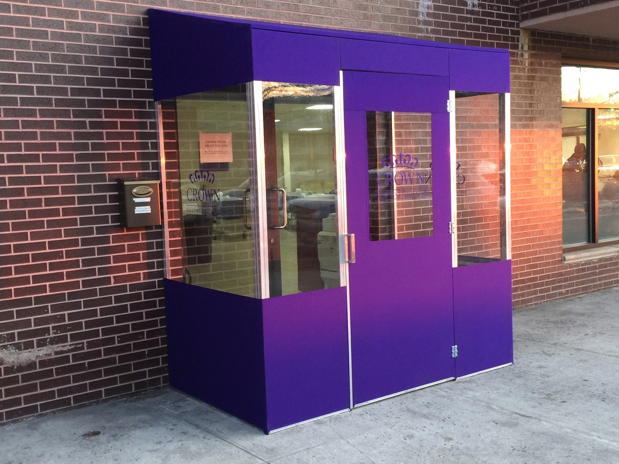 Winter Vestibules & Custom Enclosures 11